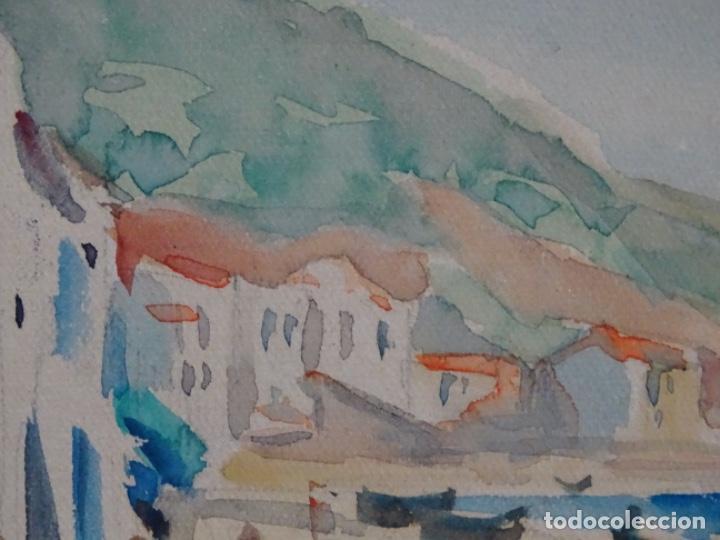 Arte: Acuarela de Joan fuster gimpera.l'estartit ? - Foto 8 - 212771731