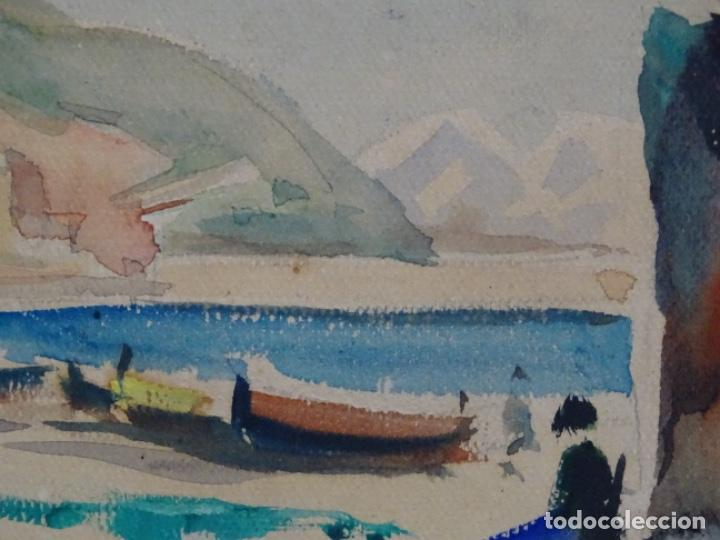 Arte: Acuarela de Joan fuster gimpera.l'estartit ? - Foto 9 - 212771731