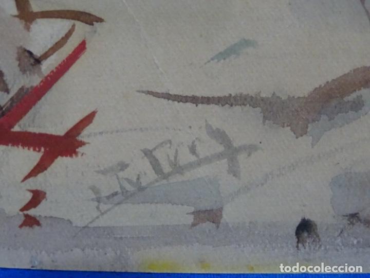 Arte: Acuarela de Joan fuster gimpera.l'estartit ? - Foto 10 - 212771731