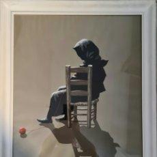Arte: ENRIQUE ARRENBERG, PRECIOSA PINTURA ORIGINAL FIRMADA.. Lote 213334585