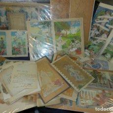Arte: (M) GRAN LOTE DE DIBUJOS Y CARTAS DOCUMENTOS PERSONALES DEL PINTOR JOSEP PEY I FARRIOL. Lote 213713323