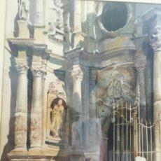 Arte: ACUARELA RAFAEL SEMPERE OBRA LA CATEDRAL VALENCIA. Lote 217584271