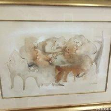 "Arte: PENOTI ""MUJERES JUGANDO A LAS CARTAS"".. Lote 217897266"