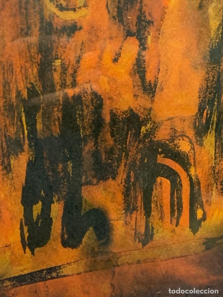 Arte: acuarela dibujo tinta papel firma forralo 76 enmarcado - Foto 10 - 217899598