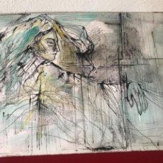 Arte: JOAN PIJOAN MUXART 1954-2000. TECNICA MIXTA 1987.. Lote 218065080