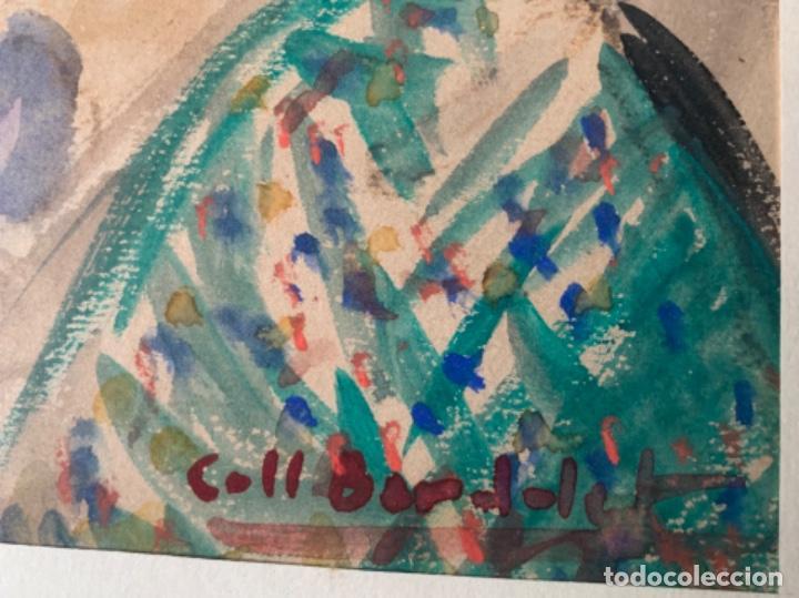 Arte: DIBUJO ACUARELA ORIGINAL FIRMADO COLL BARDOLET 32X22,5 CM. - Foto 5 - 218097881