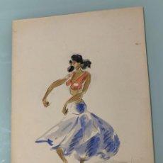 Arte: RAMON AULINA DE MATA - LA CHUNGA. TANGUILLOS. 1965. Lote 218433553