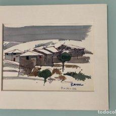 Arte: TOMAS SAYOL SALA - PLA D'EN BAS. Lote 218433702