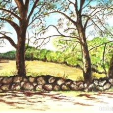Arte: ARBOLES OBRA DE GILABERTE. Lote 219229340