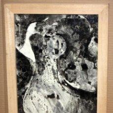 Art: JOSE MARIA GIMENEZ-BOTEY. ACUARELA SOBRE PAPEL FIRMADA DEL AÑO 1967. ABSTRACCIÓN. Lote 180099658