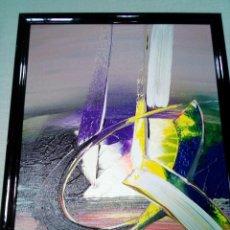 Arte: PRECIOSA PINTURA CON FIRMA DE AUTOR. Lote 219918386
