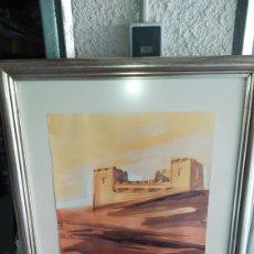 Arte: DOS ACUARELAS DE CAMILO PORTA.. Lote 219919726