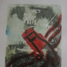 Arte: PINTURA ACUARELA NUMERADA Y FIRMADA POR LA ARTISTA MARGARIDA DE ARAUJO. Lote 220502806