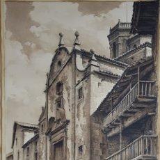 Arte: PAISAJE DE CATEDRAL POR JOAN VILA ARIMANY. Lote 220522236