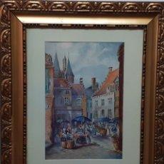 Arte: ACUARELA DE 1940. Lote 220543358