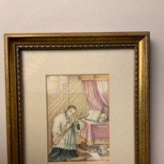 Arte: MINIATURA SAN FRANCISCO DE BORJA (S. XIX-XX). Lote 220600322