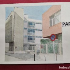 Arte: ORIGINAL ACUARELA SOBRE PAPEL.CON NOMBRE DIBUJANTE. Lote 220966778