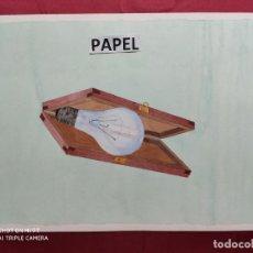 Arte: ORIGINAL ACUARELA SOBRE PAPEL.CON NOMBRE DIBUJANTE. Lote 220967115