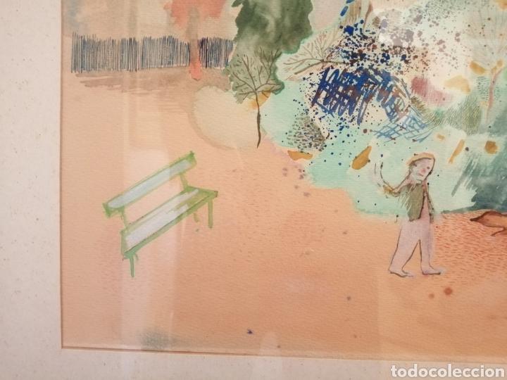 Arte: Daniela Bikacsi. Acuarela y gouache sobre cartón. - Foto 5 - 221571591