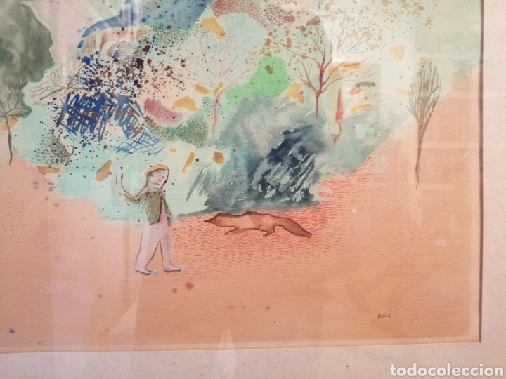Arte: Daniela Bikacsi. Acuarela y gouache sobre cartón. - Foto 6 - 221571591