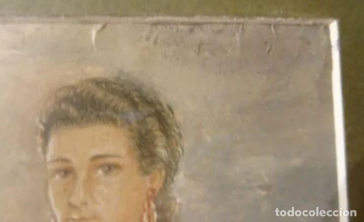 Arte: Año 1946. Acuarela firmada Chausa .Zaragoza.traje regional.aragon.pilar - Foto 6 - 221742640