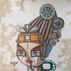 Arte: ACRÍLICO/ ACUARELA LÍQUIDA SOBRE PAPEL DE ALGODÓN.. Lote 221841848