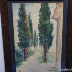 Arte: ACUARELA FIRMADA SOLA 1953.BUEN TRAZO.. Lote 223289787