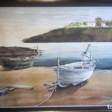 Arte: ACUARELA - MARINA .. Lote 223609548