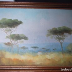 Arte: CUADRO PINTURA SOBRE TABLA FIRMADA. Lote 223952838