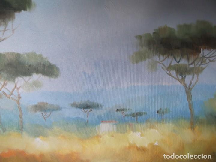 Arte: Cuadro Pintura sobre tabla firmada - Foto 2 - 223952838