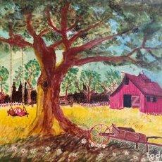 Arte: ACUARELA ORIGINAL FIRMADA - AUTOR JUST S. BASSAS - ( 1912 -2004 ). Lote 224203745