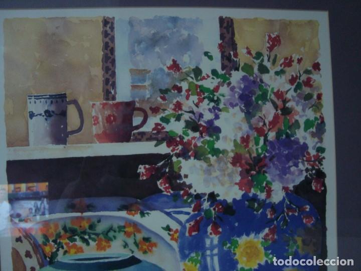 Arte: PAREJA DE BODEGONES FIRMADOS, ENMARCADOS - Foto 9 - 38332460