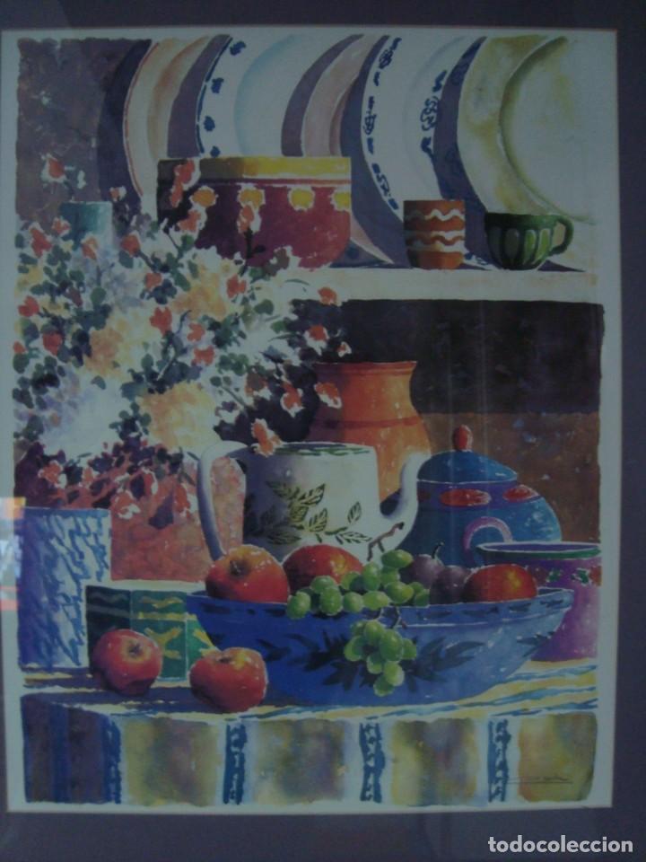 Arte: PAREJA DE BODEGONES FIRMADOS, ENMARCADOS - Foto 12 - 38332460