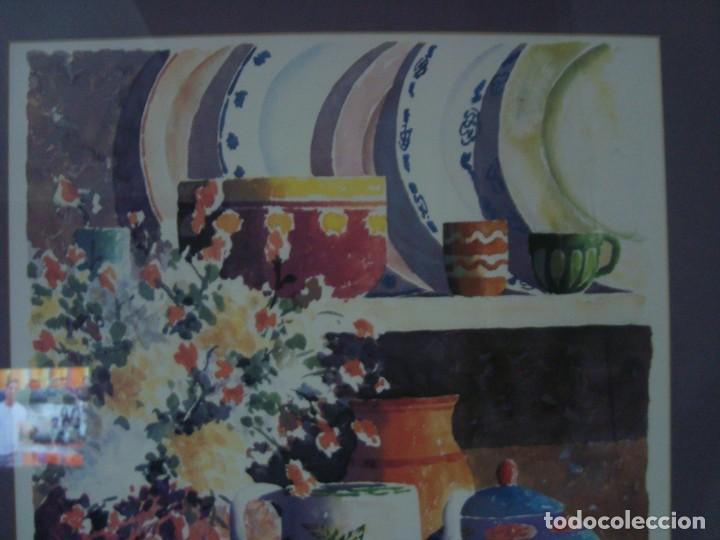 Arte: PAREJA DE BODEGONES FIRMADOS, ENMARCADOS - Foto 13 - 38332460