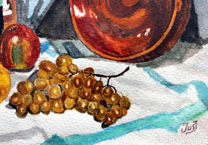 Arte: ACUARELA ORIGINAL FIRMADA - AUTOR JUST S. BASSAS - ( 1912 -2004 ) FIRMADA - Foto 2 - 225010215