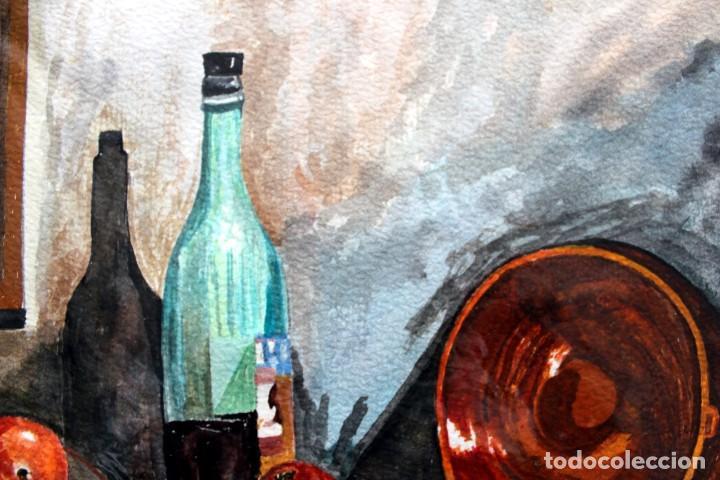 Arte: ACUARELA ORIGINAL FIRMADA - AUTOR JUST S. BASSAS - ( 1912 -2004 ) FIRMADA - Foto 3 - 225010215