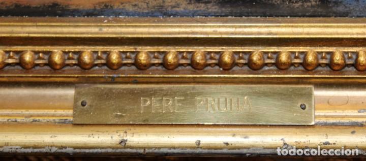 Arte: PERE PRUNA OCERANS (1904-1977), ACUARELA - 3 CHICAS EN LA PLAYA - 60 X 59 CM. - Foto 11 - 226339822