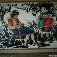 Arte: ACUARELA DE GUILLEM FRESQUET. Lote 226462506