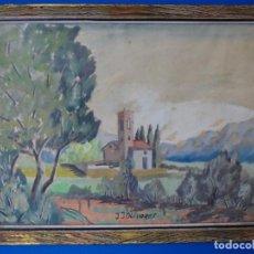 Arte: ACUARELA FIRMADA J. J. OLIVARES.. Lote 227571960