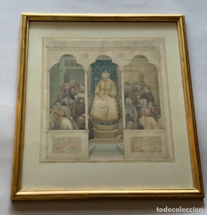 ACUARELA ANTONI CABA CASAMITJANA (Arte - Acuarelas - Modernas siglo XIX)