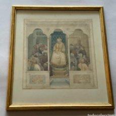 Arte: ACUARELA ANTONI CABA CASAMITJANA. Lote 228454957
