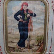 Arte: ACUARELA DEL SIGLO XIX. SOMATEN SORDO MUDO JOSÉ ROVIRA I PUIGJANER DE TIANA.UBACH.. Lote 231770935