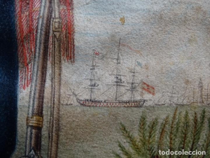 Arte: ACUARELA DEL SIGLO XIX. SOMATEN SORDO MUDO JOSÉ ROVIRA I PUIGJANER DE TIANA.UBACH. - Foto 11 - 231770935