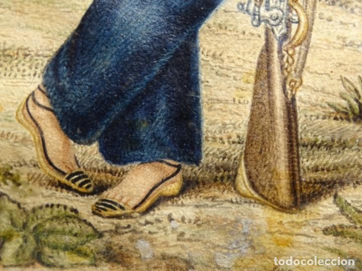 Arte: ACUARELA DEL SIGLO XIX. SOMATEN SORDO MUDO JOSÉ ROVIRA I PUIGJANER DE TIANA.UBACH. - Foto 13 - 231770935