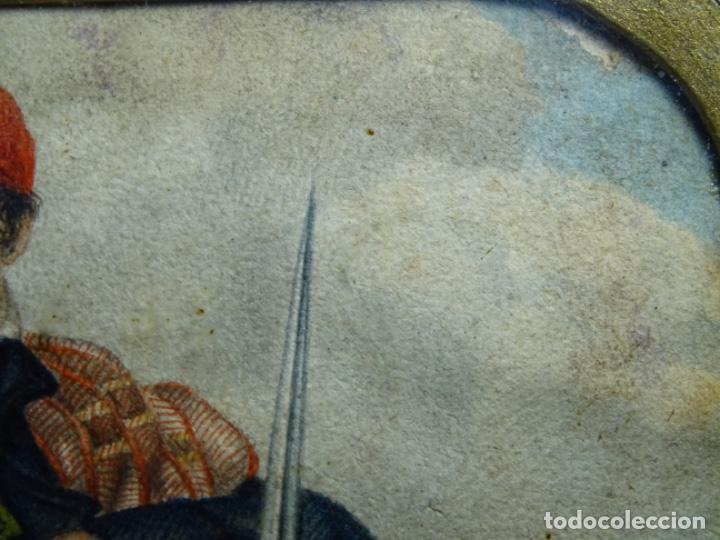 Arte: ACUARELA DEL SIGLO XIX. SOMATEN SORDO MUDO JOSÉ ROVIRA I PUIGJANER DE TIANA.UBACH. - Foto 16 - 231770935