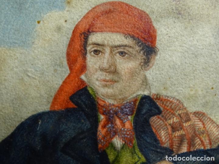 Arte: ACUARELA DEL SIGLO XIX. SOMATEN SORDO MUDO JOSÉ ROVIRA I PUIGJANER DE TIANA.UBACH. - Foto 17 - 231770935