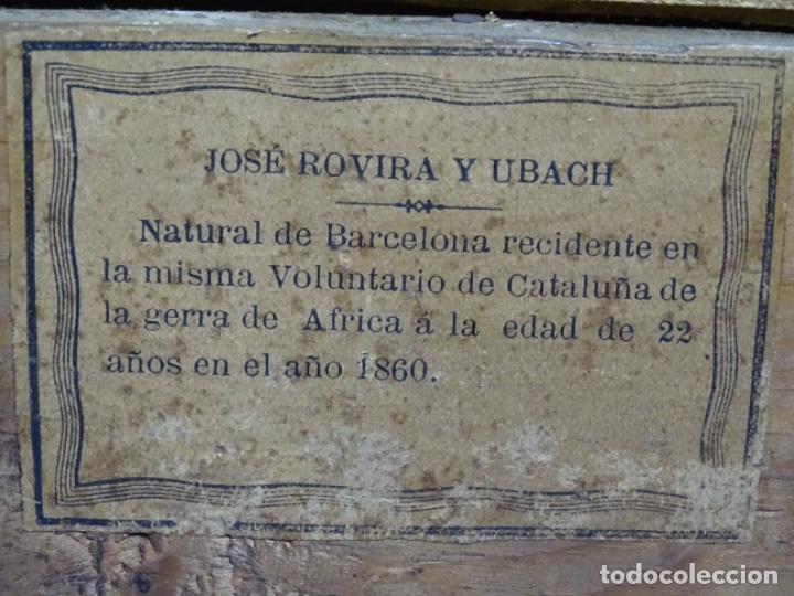 Arte: ACUARELA DEL SIGLO XIX. SOMATEN SORDO MUDO JOSÉ ROVIRA I PUIGJANER DE TIANA.UBACH. - Foto 24 - 231770935
