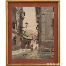 Arte: RICARDO SACRISTÁN ARRIETA (VITORIA, 1921 - 1980). Lote 232299705