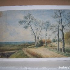 Arte: BONITO PAISAJE SIGLO XIX. Lote 233895605