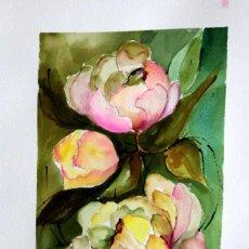 Arte: FLORES OBRA DE ISABEL LUESMA. Lote 233955040